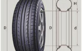 Как определить точный размер шин автомобиля? расшифровка 5 маркировочных обозначений