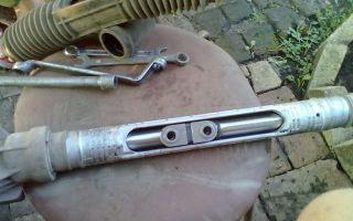 Как самостоятельно заменить рулевую рейку? 3 простых действия