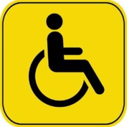 Знак парковка для инвалидов в 2020 году