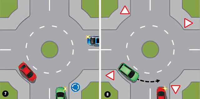 Как правильно развернуться на перекрестке со светофором