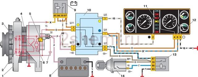 Генератор ВАЗ-2106: устройство, характеристики и диагностика в 4 этапа