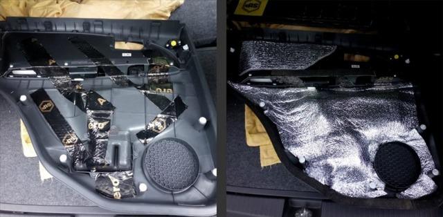 Как установить шумоизоляцию дверей автомобиля своими руками? 4 типа изоляции