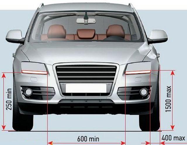 Как изготовить ходовые огни на авто своими руками? 5 вариантов установки ДХО