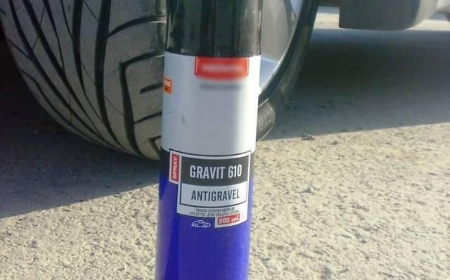 Покрытие «Гравитекс» в баллончиках для автокузова: 5 преимуществ аэрозоля Gravitex и 2 варианта применения