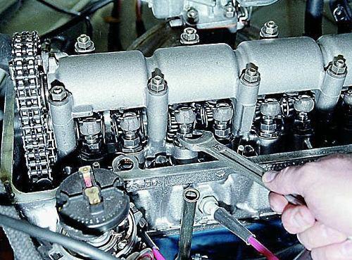 5 этапов регулировки клапанов ВАЗ-2106