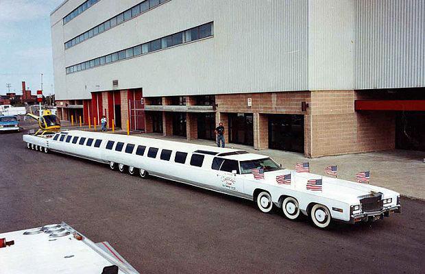 18 самых больших авто в мире: от легковушки до экскаватора