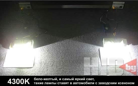 Как правильно выбрать ксенон для автомобиля? 6 вариантов фар по температуре света