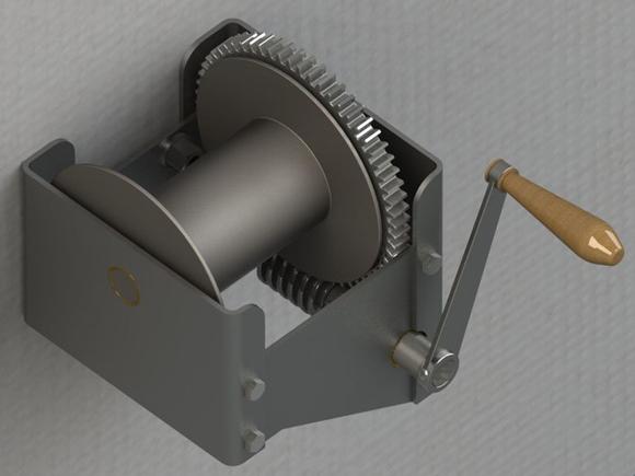 Как изготовить простую ручную лебедку своими руками? 7 этапов сборки устройства