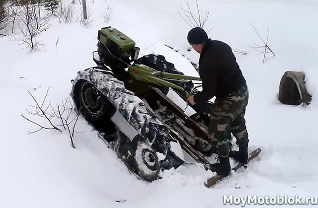 Как изготовить снегоход своими руками? 2 варианта конструкции
