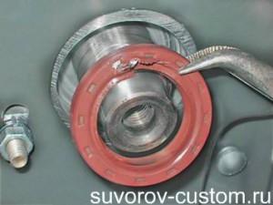 Самостоятельная замена сальника коленвала: 3 инструкции по замене переднего и заднего сальников