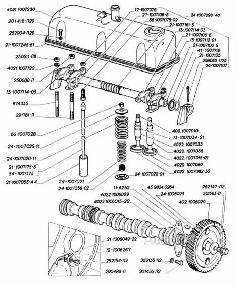 2 варианта регулировки зазоров клапанов двигателя автомобиля