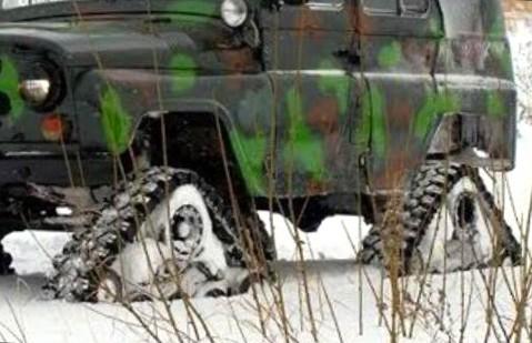 Гусеницы для легкового автомобиля вместо колёс: преимущества, недостатки и 5 нюансов установки